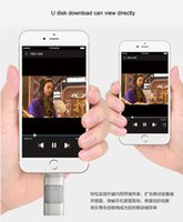 apple ipad interfaces - 2015 Newest i Flash Drive HD G micro USB interface in for samsung iPhone iPad iPod usb flash drive for PC MAC