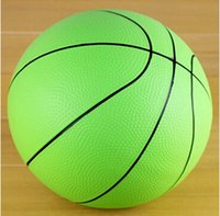 Wholesale Children s toys sports ball No inch rubber basketball baby nursery small inflatable ball pat ball