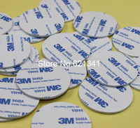 Wholesale M Strong EVA Foam Double Sided Adhesive Tape Pad Mounting Tape mm Round White pieces