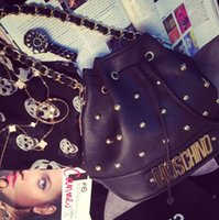 Wholesale Fashion Rivet Cross Body Lady Bags Women s Messenger Bag Lady Cross Body Shoulder Bag PU Fashion Office Outdoor Bags