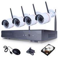 Nouvelle Annonce Plug and Play Kit de surveillance vidéo WIFI HD 720P CCTV sans fil Système 1To HDD Sécurité extérieure Caméra IP