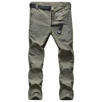 Wholesale Outdoor men s breathable trousers camping senderismo pantalones mountain hiking pants quick drying trekking climbing pants