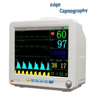 Wholesale 7 parameters EtCO2 ECG SpO2 NIBP Respiration Pulse Rate Temperature inch color LCD sidestream capnography anesthesia patient monitor