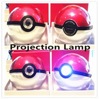 Wholesale 6000mAh The Third Generation Pocket Monster Ball Charging Treasure Projection Lamp Crystal Shell Creative And Adorable Powerbank