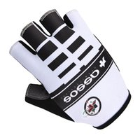 Unisex bicycle crafts - Cycling Gloves assos Craft Bike bicycles gloves with Gel pads half finger gloves for Tour of France