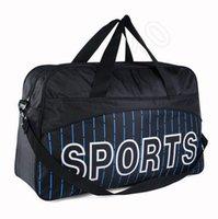 Wholesale 300PCS LJJL113 Large Men s Portable Sport HandBag Travel Hiking Backpack Gym Handbag Leisure Shoulder Sport Bag