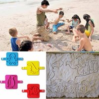 Wholesale New Lovely Kids Cute Cartoon Animals Children Beach Sand Toys Holiday Supplies