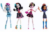 abbey bominable - Classic Monster toys art class Original Doll Robecca Steam Abbey Bominable Draculaura Skelita Calaveras high quality Toy to Girl