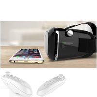 apple smart mouse - 2016 Google Cardboard Vr Box Vr Virtual Reality Glasses Smart Bluetooth Wireless Mouse Remote Control Gamepad