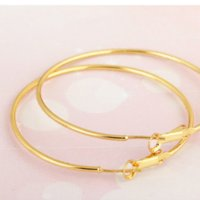 big jewellers - Fashion personality elf jewellers k gold plated big hoop earrings hooks for woman mothers and valentine day gift ear earings