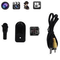 Wholesale 5pcs HD P P Sport Spy Mini Camera SQ8 Mini DV Voice Video Recorder Infrared Night Vision Digital Small Cam Hidden Camcorder