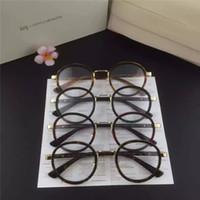 designer eyeglasses - Optical Fashion Designer Eyeglasses Frames Vintage Full Rim Round Brand Eyeglasses Frames with Acetate for Adult Taem