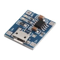 battery charger ics - 5V Mini MICRO USB A TP4056 Lithium Battery Charging Charger Module Board IC
