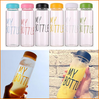 Wholesale NEW Ml Plastic Fational Sport Fruit My Bottle Lemon Juice Readily Cup Drinking Water