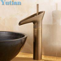 Wholesale Basin Faucet Antique Brass Swivel Bathroom Basin Mixer BASIN Tap Crane torneira YT