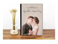 Wholesale Personalized crysal cover photo book water proof customized baby memory photo book professional portait quality wedding photo albumn