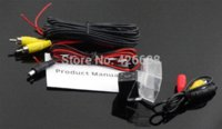 Wholesale wired HD CCD car rear view reverses parking camera for Mazda Mazda6 M6 Night vision waterproof