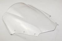 Wholesale Motorcycle Windscreens Double Bubble Windscreen Windshield for FZ1S FZ1 S Clear Wind Deflectors