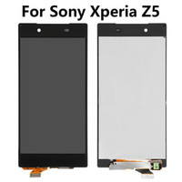 Wholesale LSHtech LCD Display Touch Screen Digitizer Assembly for Sony Xperia Z5 E6603 E6633 E6653 E6683