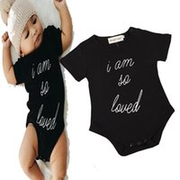 american suit sizes - poke baby clothes Baby Boys Girls Rompers body suit Newborn letter Romper Onesies Cotton kids Clothing Sets Triangle full sizes