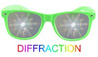abs thickness - mm thickness lenses adult ABS material frame fireworks diffraction glasses for party gift celebration