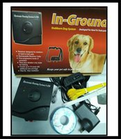 Wholesale dog training equipment dog fencing system with dog electronic shock training collar starter kit S228 outdoor in ground fence