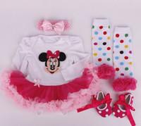 Bébé garçons filles vêtements ensembles ensembles de Noël bébé nouveau-nées robe coton bébé robes vêtements enfants jupe baptême Boutique GLS03B