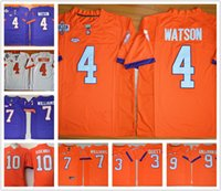 Wholesale Clemson Tigers Jersey DeShaun Watson Mike Williams Wayne Gallman II Artavis Scott Stitched College Jerseys cheap for men youth kids