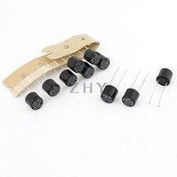 Wholesale Black Cylinder Shape Miniature Slow Blow Micro Fuses V A