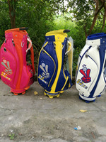 Wholesale Golf Staff Bag WINWIN Golf cart bag Color Can mix bag color With Golf bag cover EMS