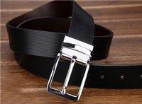 brand belt - Factory Supply luxury fashion brand New Arrival High Quality Leather Men Belts Fashion Designer men Low Price Belts Waist Alloy Buckle Belt