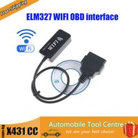 apple tuning - DHL ELM ECU flasher ECU Chip tuning ELM327 WiFi OBD II Car Diagnostics Tool for Apple iPad iPhone iPod Touch