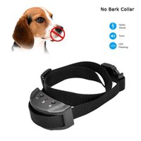 Wholesale 2016 Anti Bark No Barking Remote Electric Shock Vibration Dog Pet Training Collar New