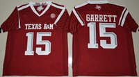 aggies a m - 15 Myles Garrett Texas A M Aggies Limited College Football Jerseys New Style Stitched Jersey Embroidery logos