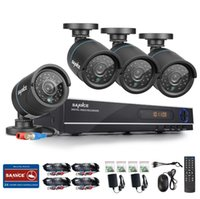 Wholesale 2016 New SANNCE Home Security HD N P CH DVR TVL MP AHD CCTV Camera System Channel Video Surveillance Kit