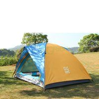 Wholesale 4 Season person Waterproof Folding Tent Double Layer Tent Hiking Camping tent