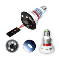 Wholesale Eazzydv HD720P light bulb camera with remote control motion detection night vision alert access remote via APP