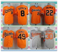baltimore products - New Product Baltimore Orioles Men s Baseball Jersey Cal Ripken Jim Palmer Chris Tillman Dylan Bundy Orange Grey Jerseys