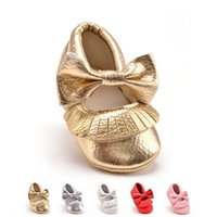 baby girl pram - Baby Fashion Soft Sole Leather Shoes Toddler Infant Boy Girl Tassel Newborn Baby Wlak Infant Toddler Crib Pram Shoes Soft Sole Slip on