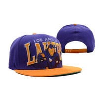 best hat brands - Hot Brand Los Snapback Caps Best Cheap Angles Cotton Flat Basketball Caps Adjustable Adults Hip Hop Hats for Men Women A051