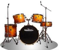 16 acoustic drums - Garnett Jazz Drum Adult Drum Drum Beginner Professional Performance Drums Drum Stool Professional Performance Drums Drums
