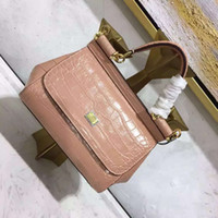 alligator leather goods - D cm alligator women handmade classic and moden combine special creative genuine leather palmprint G handbag good quality
