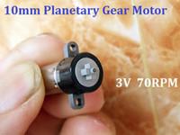 Wholesale 10 Diameter mm GP DC3 V RPM Miniature Plastic Gear Planetary Gear Motor For Eyelash Machine