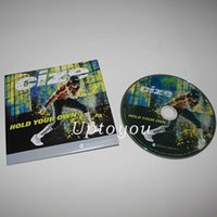 Wholesale Bodybuiding Fitness Exercise Fitness Videos Workout DVD Base Kit DVDs Hot Sale DHL