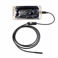 Wholesale by dhl or ems M P LED Android Phone USB Endoscope Waterproof Borescope Tube Snake Camera Inspection