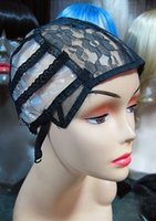 Wholesale Wig Caps For Making Weaving Wigs With Adjustable stretch Rose net Strap