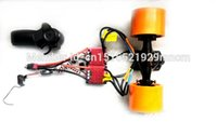 Wholesale electric skateboard in wheel motor kit for longboard including ESC and remotes