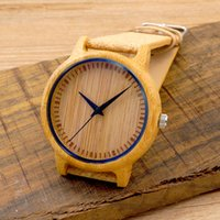 bamboo buckles - New arrival Vine Round Ladies Quartz Watches Fabric Dial Women Bamboo Wood Watches Top Brand Luxury Watch