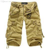 bib cargo shorts - New beach shorts men surf bermudas men top quality bib overall boardshorts cargo jeans leisure knee length shorts