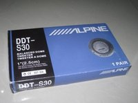 alpine stereo speakers - Alpine DDT S30 Car Tweeter Speaker Mm inch Silk Membrane Treble Speakers Car Audio